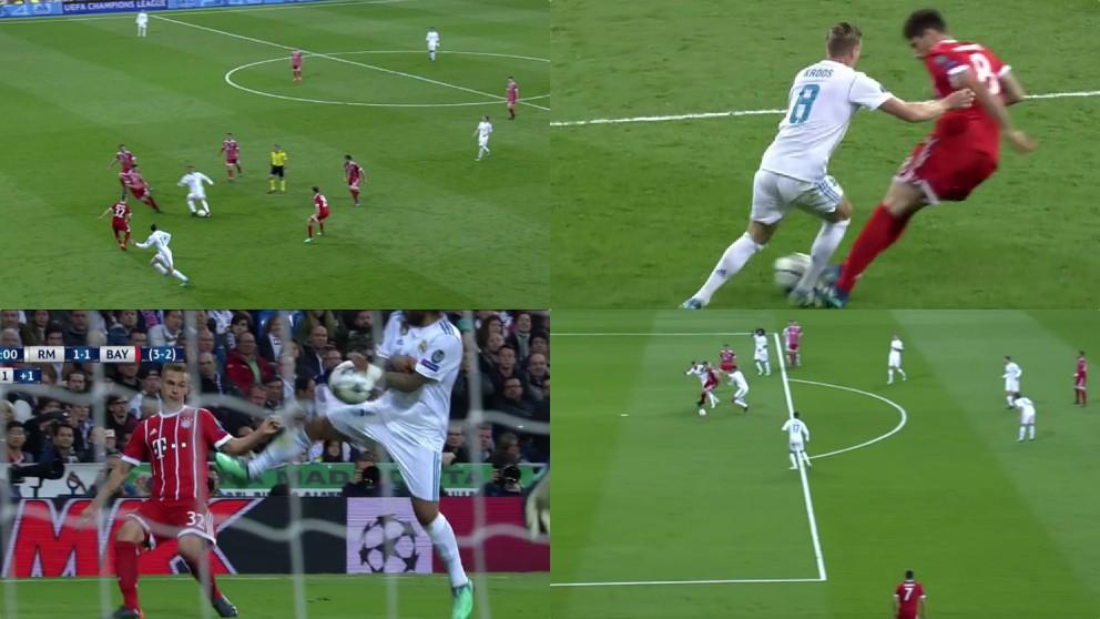 Todas las polémicas del Real Madrid – Bayern.   Champions League
