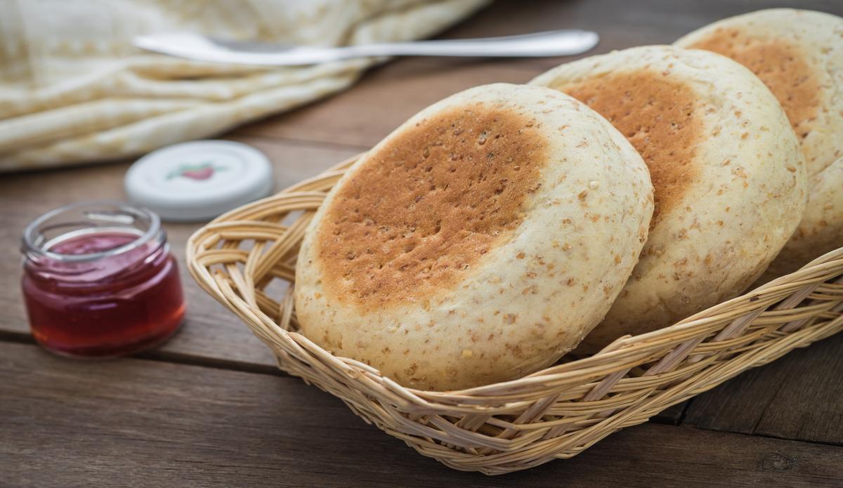 Receta de Muffins ingleses fáciles de preparar