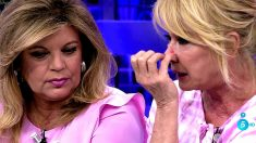 Mila Ximénez se ha derrumbado en 'Sálvame'. (Foto: Telecinco)