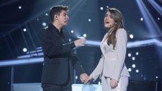 Alfred y Amaia van a 'Eurovisión 2018′ con mucha ilusión'. (Foto: RTVE)   Eurovisión 2018