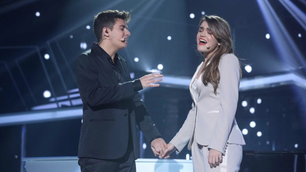 Alfred y Amaia van a 'Eurovisión 2018′ con mucha ilusión'. (Foto: RTVE) | Eurovisión 2018