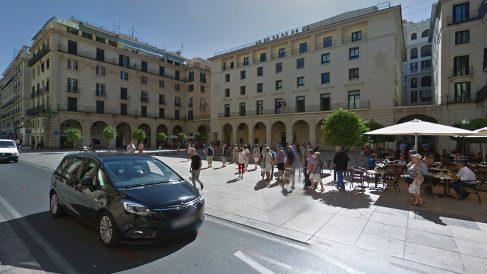 Fachada de la Audiencia Provincial de Alicante, donde se celebró el juicio.