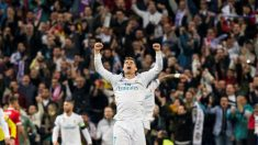 Cristiano Ronaldo celebra la clasificación del Real Madrid para la final de la Champions League. (EFE) | Real Madrid – Liverpool | Final de la Champions League