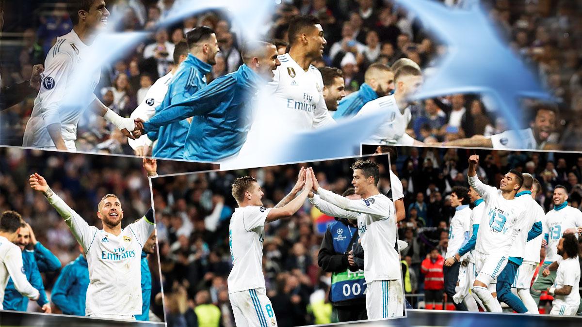 Los jugadores del Real Madrid ganaron por orgullo las semifinales de Champions.