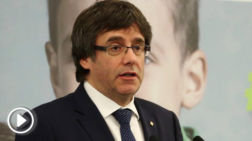 El ex president Puigdemont. (Foto. Flickr)