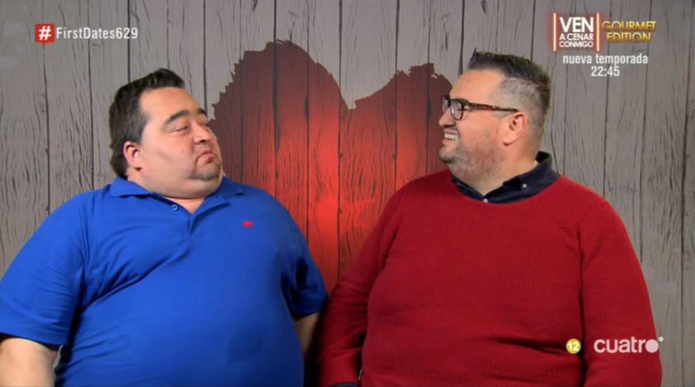 Mikel y vicente siguen buscando después de pasar por 'First Dates'