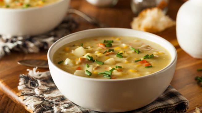 Sopa de pescado de la abuela