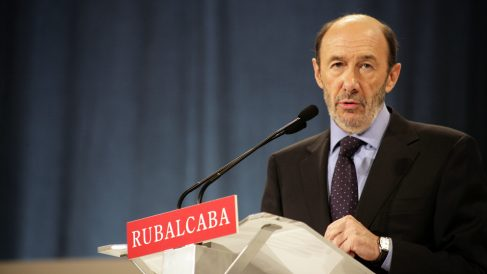 Alfredo Pérez Rubalcaba. (Foto: PSOE)