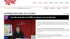 En dos ocasiones, Anna Peña ha sido candidata y directora de la campaña electoral de ERC en la Comunidad Valenciana.