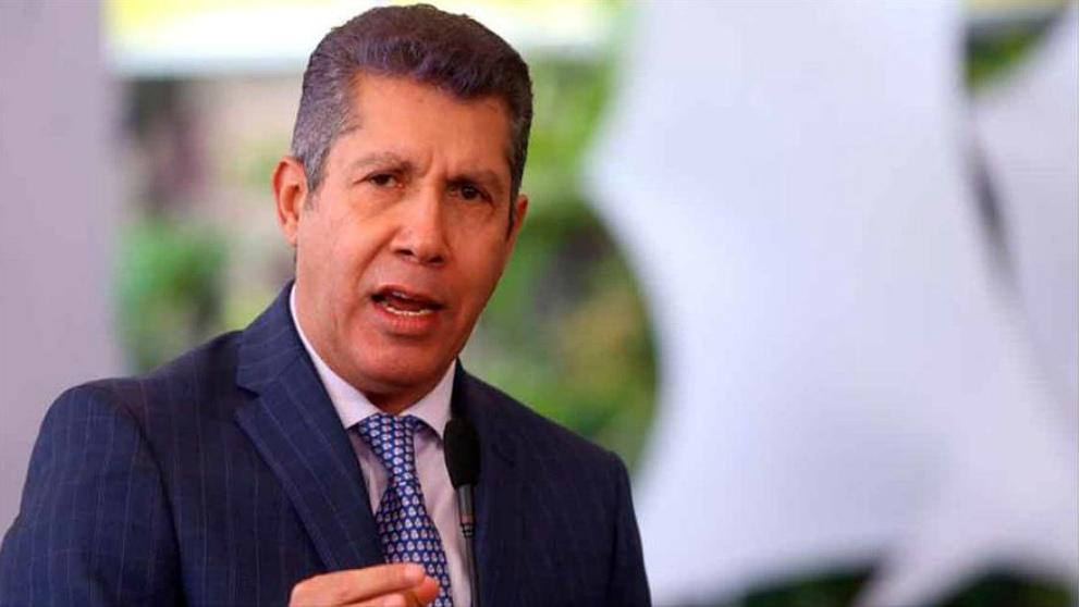 Henri Falcón, líder del partido venezolano  Avanzada Progresista.