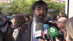 El magistrado de la Audiencia provincial de Navarra Ricardo Javier González.