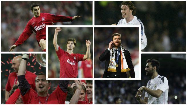 De Arbeloa a Owen: los nueve jugadores que han vestido la camiseta de Real Madrid y Liverpool