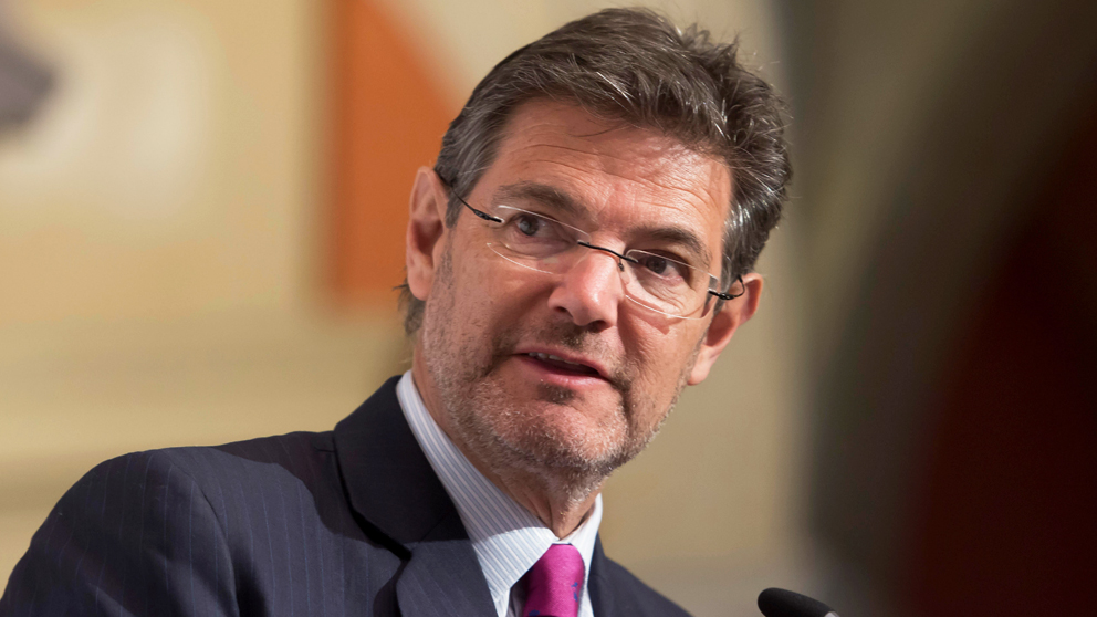Rafael Catalá, ex ministro de Justicia. (Foto: EFE)