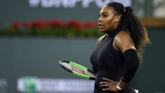 Serena Williams, en el torneo de Indian Wells. (Getty)