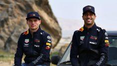 Max Verstappen y Daniel Ricciardo podrían ver cómo el accidente del pasado domingo en Bakú afecta a su relación, algo que el joven piloto holandés cree sin embargo que no va a suceder. (getty)