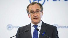 Alfonso Alonso, presidente del PP en el País Vasco. (Foto: EFE)