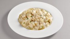 Receta de bacalao con nata y patatas fácil de preparar