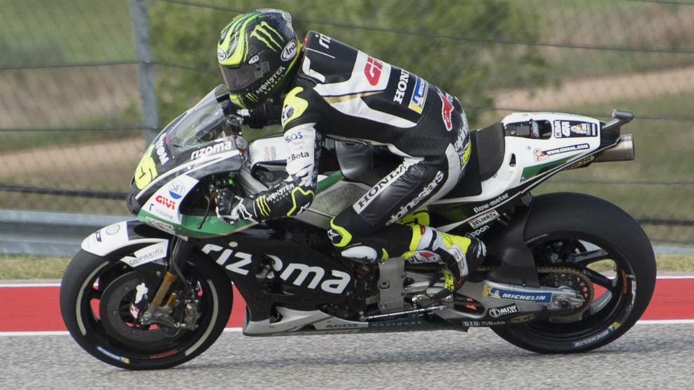 Cal Crutchlow ha dominado la segunda sesión de entrenamientos libres del Gran Premio de España de MotoGP, con Dani Pedrosa segundo y Marc Márquez probando el suelo por tercera vez esta temporada. (getty)