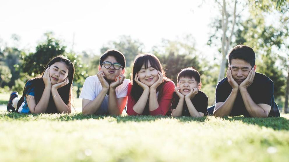 Disfrutar en familia de la primavera