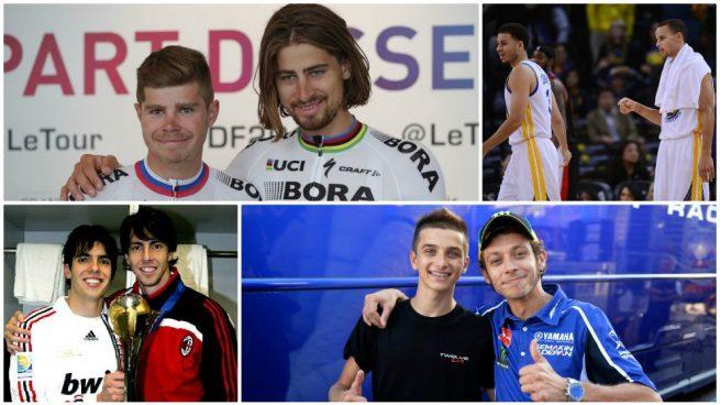 Los hermanos 'enchufados' del deporte mundial