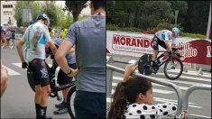 Chris Froome en el Giro de Italia 2018.