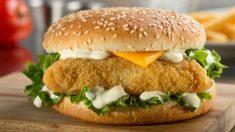 Receta de hamburguesa de merluza y gambas