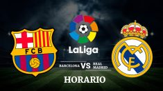 Barcelona – Real Madrid   Liga Santander   Fútbol hoy