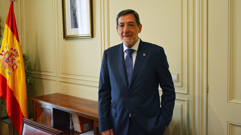 Juan Luis Ibarra, presidente del TSJ del País Vasco. (Foto: CGPJ)