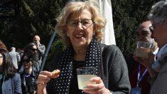 La alcaldesa Manuela Carmena presentando San Isidro 2018 este viernes. (Foto. Madrid) | Última hora Madrid