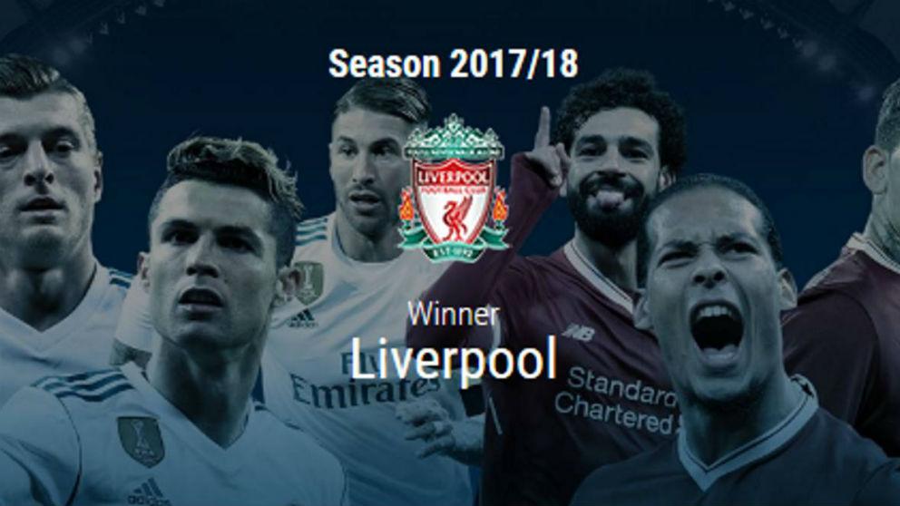 Champions League Gallery: La UEFA Da Por Error Ganador Al Liverpool En La Final De