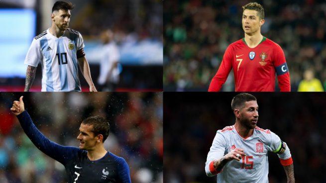 Listas oficiales de las selecciones para el Mundial 2018