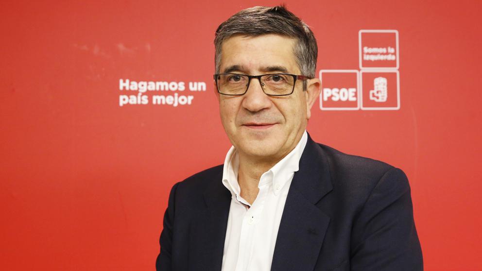 Patxi López. (Foto: PSOE)