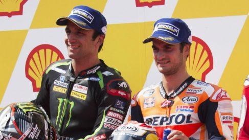 Con el fichaje de Johann Zarco por KTM, Dani Pedrosa se ha quitado a uno de sus principales rivales para conservar un año más su asiento en Honda. (Getty)
