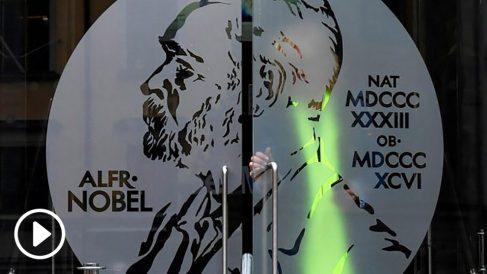 Entrada del Museo Nobel de la Academia Sueca. (Foto: AFP)