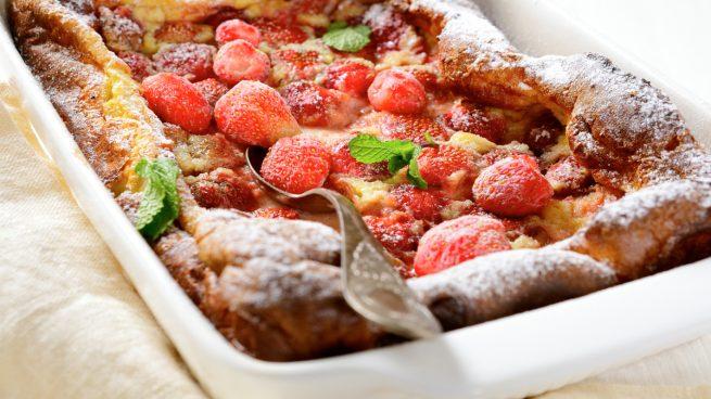 clafoutis de fresa