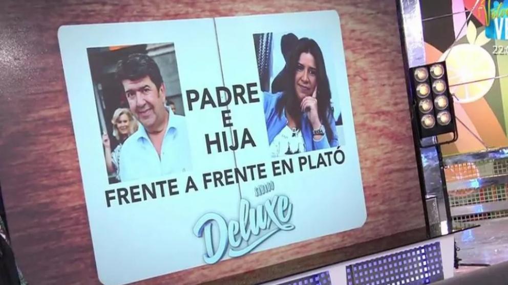 Gil Salgado se enfrenta a su hija en 'Sálvame Deluxe'