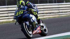 Valentino Rossi ha confirmado que su Yamaha M1 no es especialmente competitiva en Jerez, con lo que espera un fin de semana complicado. (Getty)