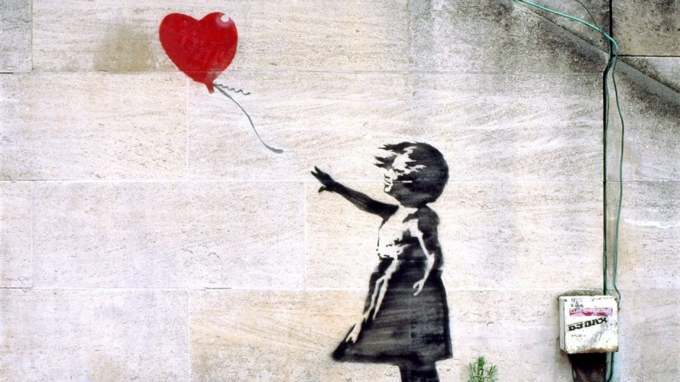 Banksy (Foto. Getty)