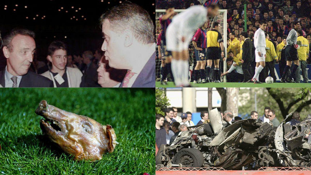 Las historias más raras que sucedieron en el Clásico.   Barcelona – Real Madrid   Clásico