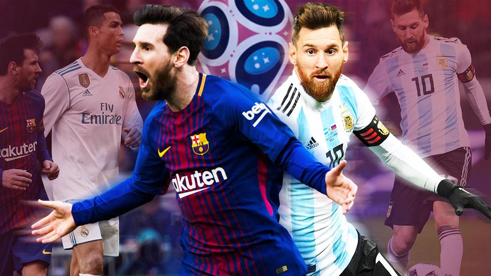 Leo Messi tiene el Mundial como objetivo a final de temporada.
