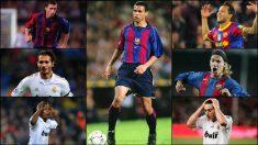 Algunos jugadores que disputaron un día un Clásico.