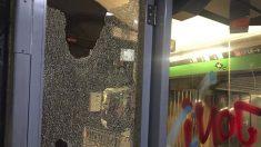 Ataque de radicales al metro de Barcelona.