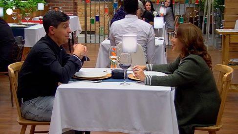 Marisa y Luis, dos almas gemelas en 'First Dates'