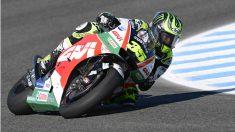 Crutchlow saldrá primero en el GP de España de MotoGP. (AFP)
