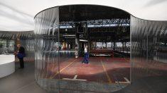 Kanal-Centro Pompidou, en Bruselas. (Foto: AFP)
