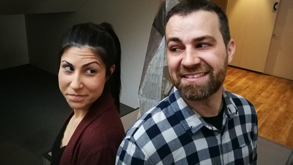 Nadia Ruiz y Jaime Maestro, fundadores de la productora valenciana 'La Tribu Animation'. Foto: OKD