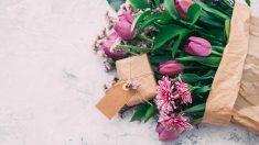 Flores para el Día de la Madre 2018.