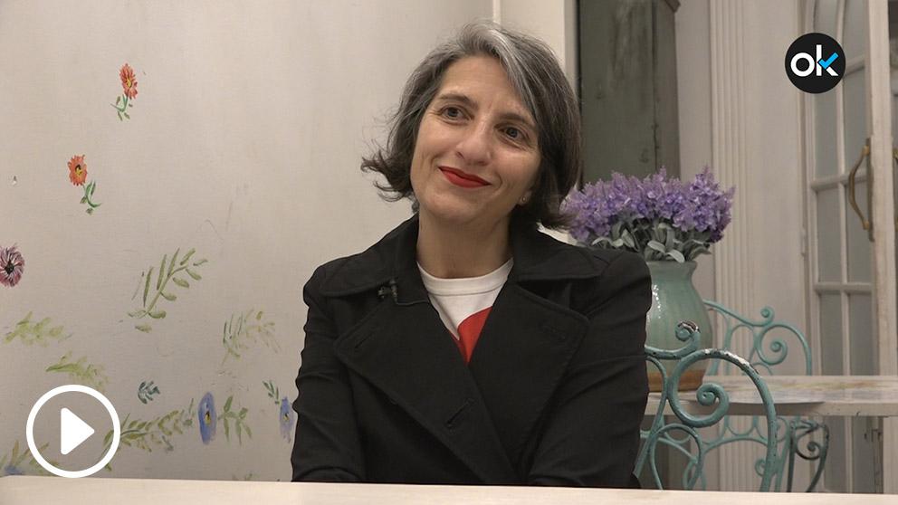 Inmaculada Urrea, experta en branding durante la entrevista