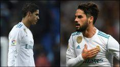 Isco se queda en Madrid y Varane viaja a Barcelona.   Barcelona – Real Madrid   Clásico