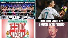 Algunos de los memes del Barcelona – Real Madrid.